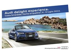 Audi Delight Experience in Costa Smeralda