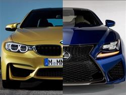 BMW M4 vs Lexus RC-F: il confronto