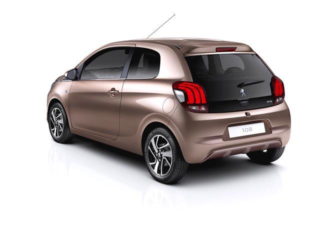 Peugeot 108 punta sulla personalizzazione