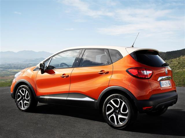 Renault Captur: nuovissima crossover francese