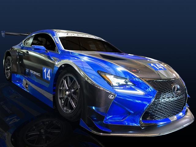 Lexus conferma il programma GT3 con la RC F