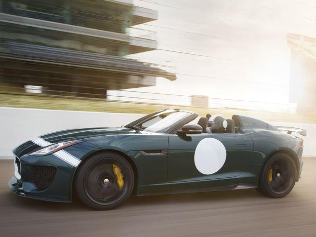 Jaguar F-Type Project 7: pista o strada?