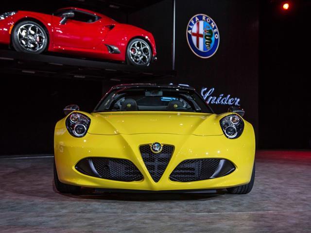Alfa Romeo 4C Spider fa sentire il sound
