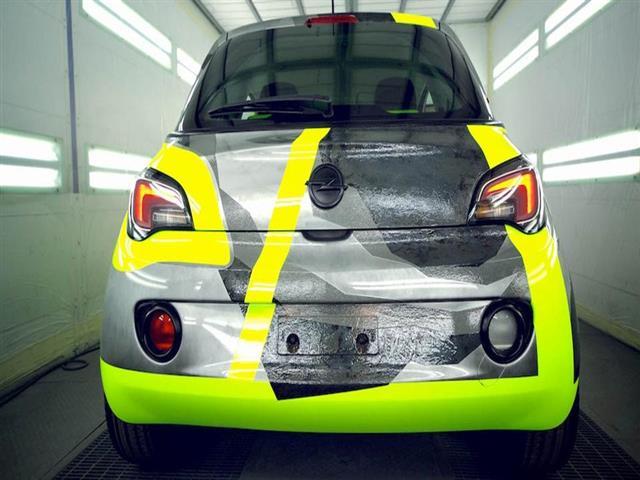 Opel Adam: unico esemplare dedicato all'EICMA
