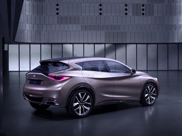 Infiniti Q30: concept car svelata a Francoforte