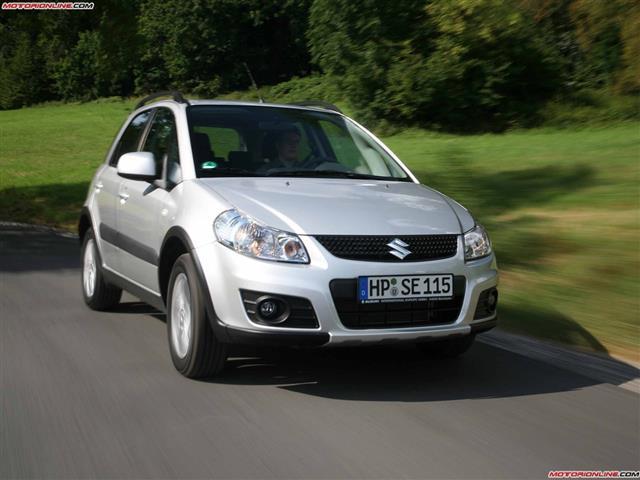 Suzuki SX4: per la quotidianità familiare