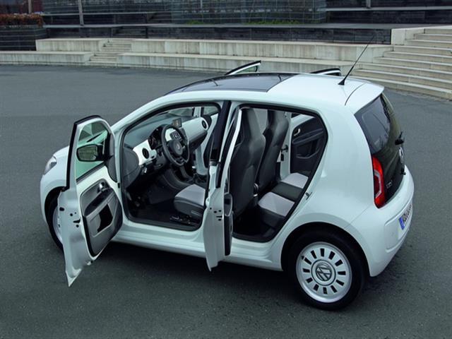 Volkswagen Up: piccola ma spaziosa da città