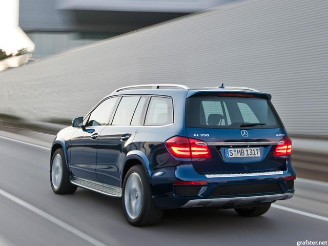 Mercedes Classe GL: il SUV extralarge