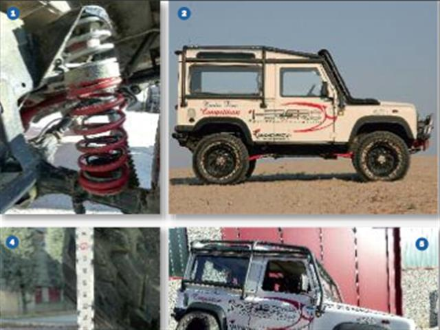 Land Rover Defender TD5 2004 SW by Herero4x4