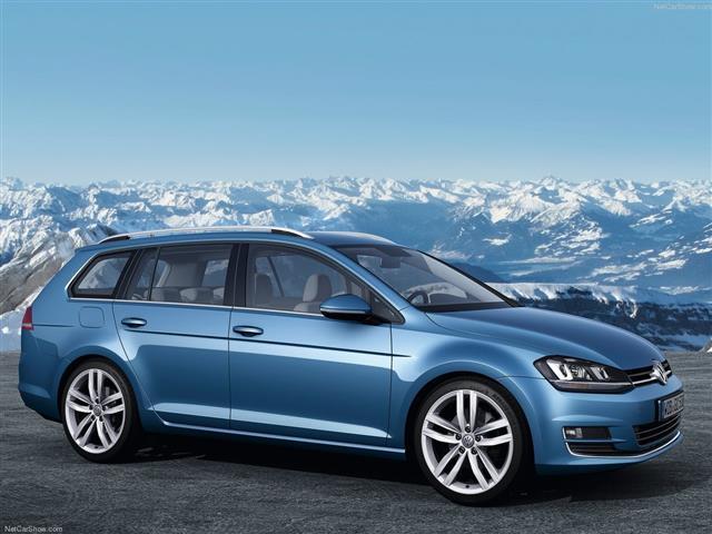Volkswagen Golf Variant: station wagon