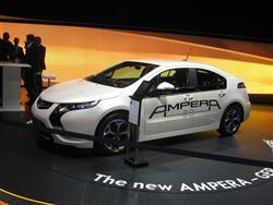 Opel Ampera eletta auto dell'anno 2012